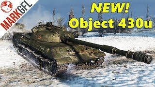 Object 430u New in 9.22 - This Looks Scary! - World of Tanks