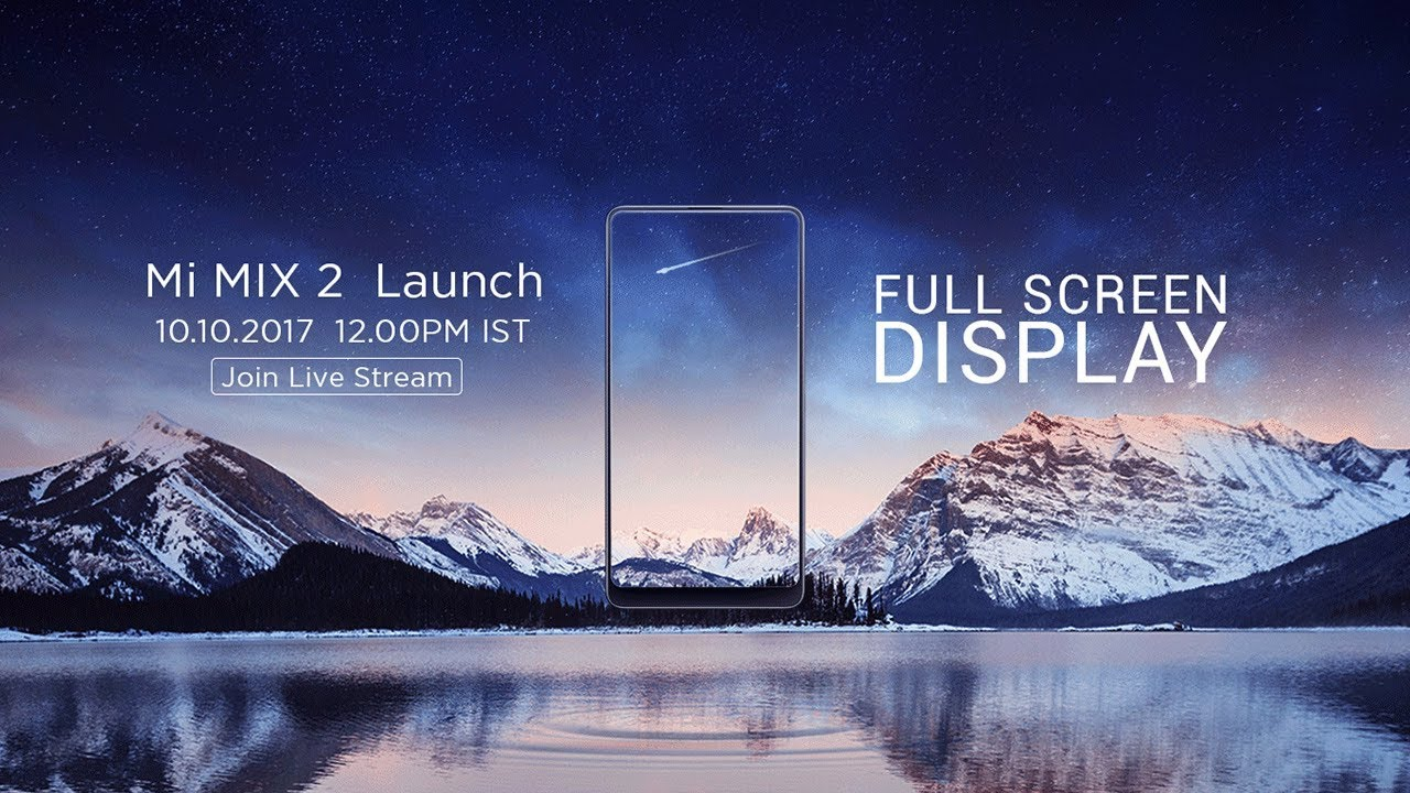 Bezel-less smartphones are arguably the biggest trend in the smartphone market right now, and Xiaomi Mi MIX 2, the successor to the smartphone that started it all, will launch in India today. The launch event is expected to kick off at 12pm IST, and as always, Gadgets 360 will have live updates from the event, and full details about Mi MIX 2 price in India, release date, and everything else. The smartphone has already been confirmed to be a Flipkart-exclusive, though it will obviously be available directly from Xiaomi as well.(Update: Xiaomi Mi MIX 2 has officially launched in India)To recall, the Mi MIX 2 was launched in China last month alongside the Xiaomi Mi Note 3. Notably, the Mi MIX 2 India launch will be the first premium smartphone the Chinese firm has brought to India since the Xiaomi Mi 5 back in March last year.Xiaomi Mi MIX 2 price in IndiaThe Xiaomi Mi MIX 2 was unveiled in three RAM and storage variants - 6GB RAM/ 64GB storage at CNY 3,299 (roughly Rs. 32,300), 6GB RA..