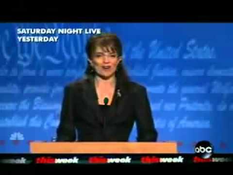 SNL Sarah Palin VP Debate Tina Fey