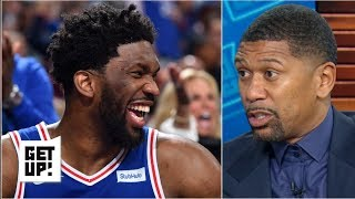 Joel Embiid's behavior made it clear he fouled Jarrett Allen on purpose - Jalen Rose | Get Up!