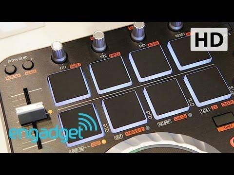 Numark Mixtrack Quad hands-on | Engadget