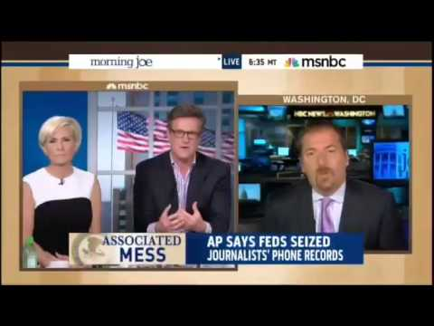 NBC's Chuck Todd on DOJ Seizure: Obama Admin Owes Us An Explanation
