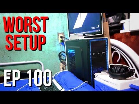 Setup Wars - Episode 100 | Worst Setup Edition