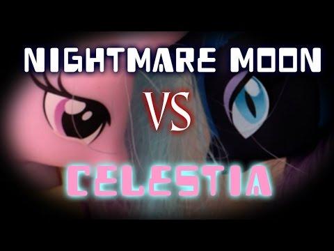 MLP - Nightmare Moon VS Princess Celestia (Toys Version)