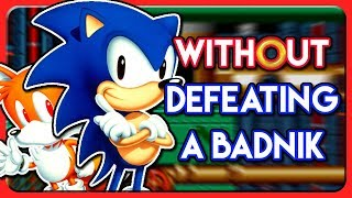 Can You Beat Sonic the Hedgehog 2 WITHOUT Defeating a Badnik?