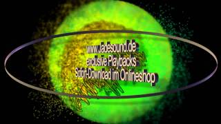 Karaoke - Playback - Die Cappucinos - Party Auf Dem Mond (Party Mix) - Jadesound (Cover) + Backings