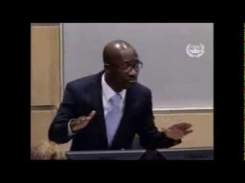 Charles Blé Goudé à la CPI