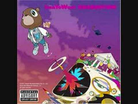 Kanye West - Flashing Lights (feat. Dwele) - Graduation video