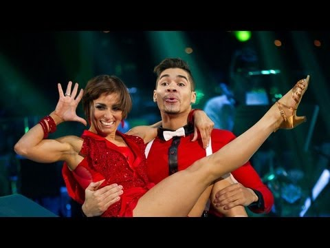 http://www.bbc.co.uk/strictly Louis Smith and Flavia Cacace dance the Charleston to 'Dr Wanna Do'.