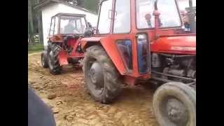 Mtz vs Mtz - and imt 539 vs 539 Traktorijada Slabinja 2014