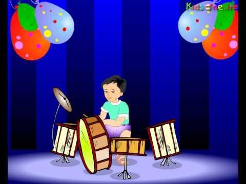 Aaja Chidiya    Animated Hindi Rhymes - Kids Rhymes - Elearning, Kids Games video