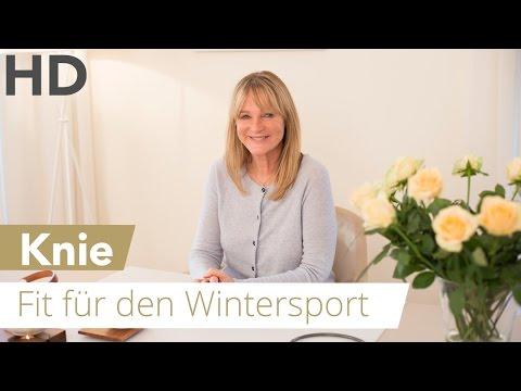 Knie - Fit für den Wintersport // Ski, Langlauf, Snowboard