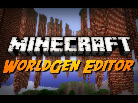 Minecraft Mod Review: WORLD GENERATION EDITOR! (WorldGen Wedge Mod)