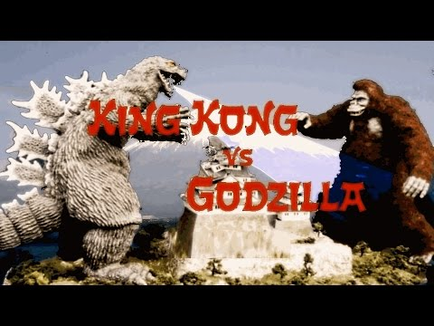 King Kong vs Godzilla (1962) - Fight Scene