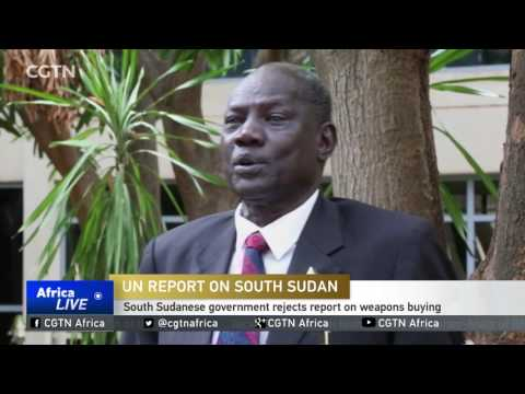 South Sudanese Government Rejects Report On Weapons Buying