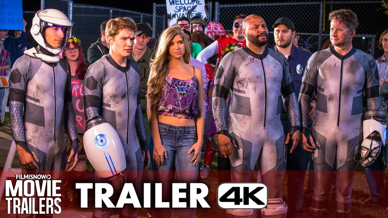 Lazer Team Official Trailer #2 - Sci-Fi Action Comedy [4K Ultra HD]