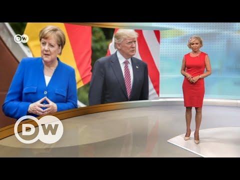 Сенсационная речь Меркель: Европе с Трампом не по пути? – DW Новости (29.05.2017)