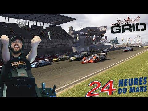 Потнейшие 24 часа Ле-Мана🔥 Lamborghini Murcielago на легендарной трассе в Race Driver: GRID