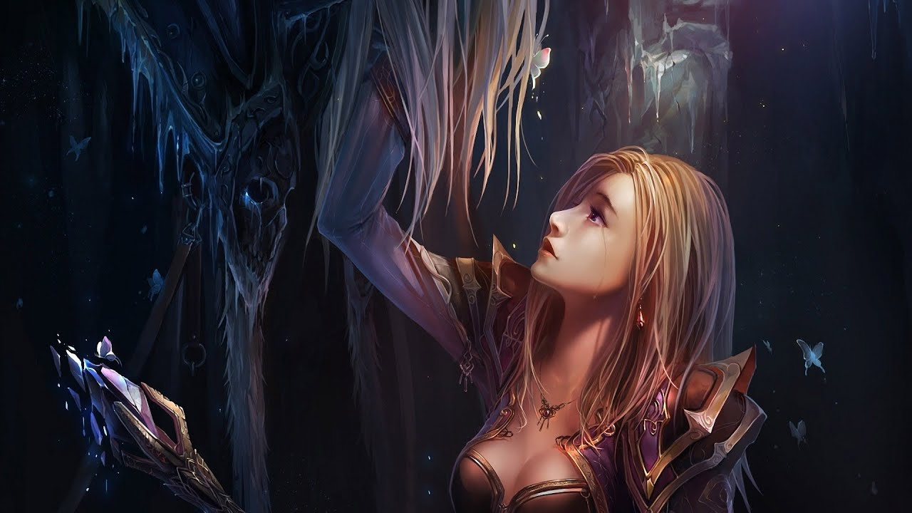 Download sleeping Lady Sylvanas and Jaina Proudmoore  adult gallery