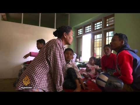 Myanmar grapples with refugee problem as rebel fighting rages