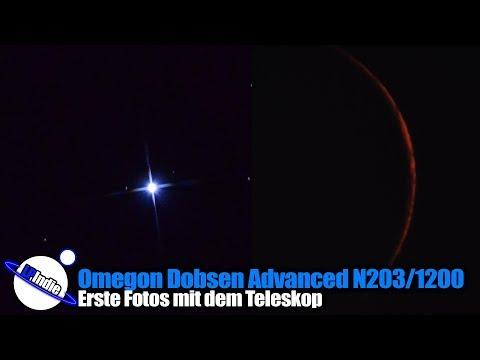 Erste Schritte Astrofotografie: Omegon Dobsen Advanced 203/1200