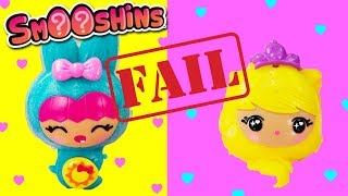 Smooshins FAIL Smooshins Squishy Maker New Character Molds + Refill Color Pouches