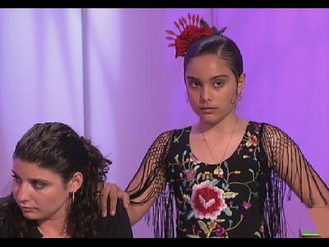 Flamenco: Alba Heredia baila de niña por primera vez en Canal Sur