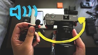 Get Better Audio on the Sony a6000 Tutorial - Dual Audio with Rode SmartLav Plus vs Cheap Lav