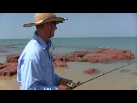 BARRAMUNDI FISHING AT THE BEACH1
