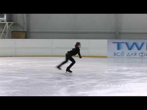 Флип (1 оборот) в исполнении Аделины Сотниковой