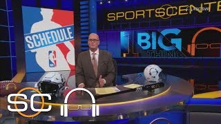 The World Awaits NBA Schedule | 1 Big Thing | SC with SVP