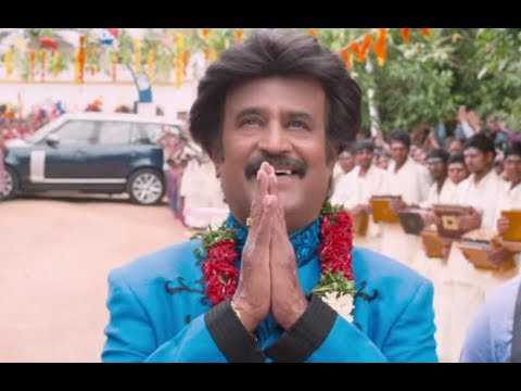 Rajinikanth Receives A Warm Welcome From The Villagers