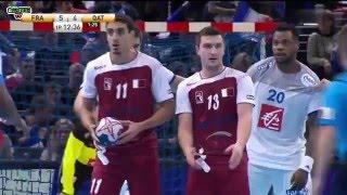 France vs Qatar Handball Golden League 2015 2016 2e manche