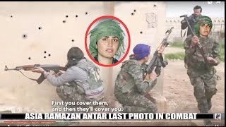 Asia Ramazan Antar Kurdish Female Hero 9 ISIS Kills