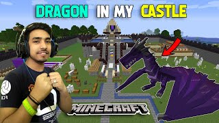Techno gamerz found dragon in minecraft world || techno gamerz minecraft || @Techno Gamerz