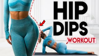 HIP DIPS WORKOUT | Side Butt Exercises | 10 min Home Workout