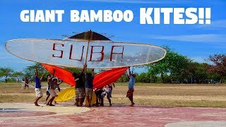 AMAZING GIANT BAMBOO KITES IN THE PHILIPPINES! (Traditional Filipino Borador Festival)