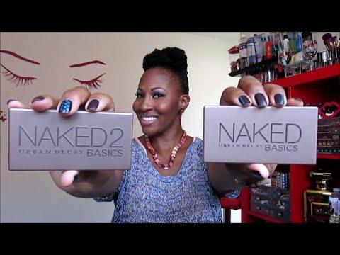 Urban Decay Naked 2 Basics VS. Naked Basics