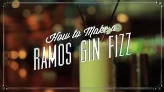 How to Make a Ramos Gin Fizz From the Sazerac Bar in New Orleans
