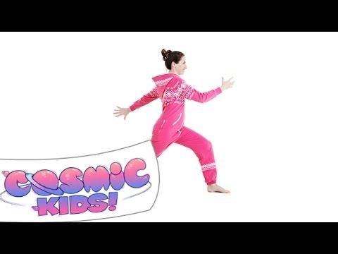 Big Steps Pose | Cosmic Kids Yoga posture of the week!