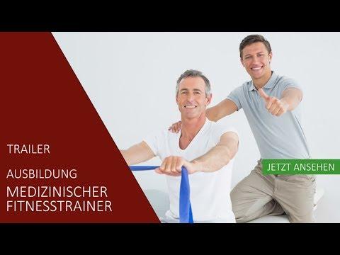 Ausbildung  Medizinischer Fitnesstrainer | Trailer | Akademie für Sport und Gesundheit