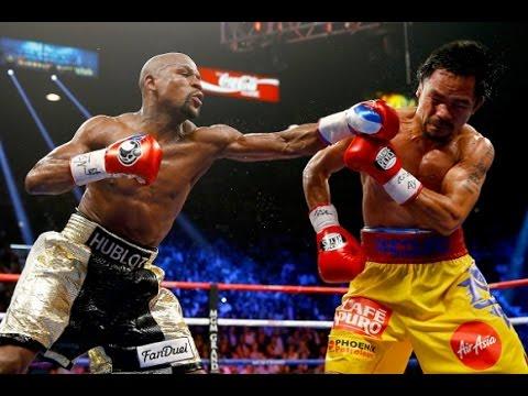 Floyd Mayweather Jr. vs. Manny Pacquiao  - Strike For Strike Slow-Motion Breakdown