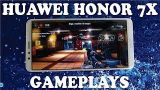 Huawei Honor 7X - Desempenho em jogos, Unkilled, Shadowgun Legends, PUBG e Asphalt Xtreme