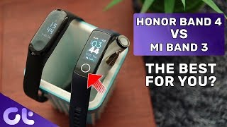 Honor Band 4 vs Mi Band 3 Detailed Comparison | Which One To Buy? | Guiding Tech