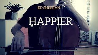 Download Lagu Ed Sheeran - Happier for cello and guitar (COVER) Gratis STAFABAND