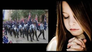Anzac Day ('.')Sing a sad county song