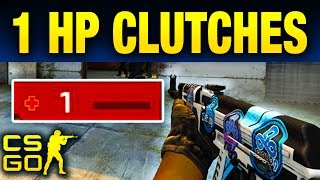 Top 10 Pro 1 HP Clutches In CS:GO History