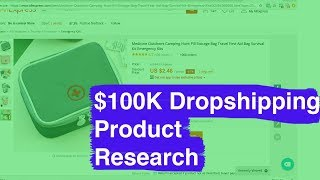 How To Find $100K / Month Dropshipping Products (Research + Sales Tactics)