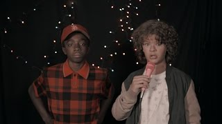 Stranger Things karaoke: Dustin and Lucas sing 80s movie classics