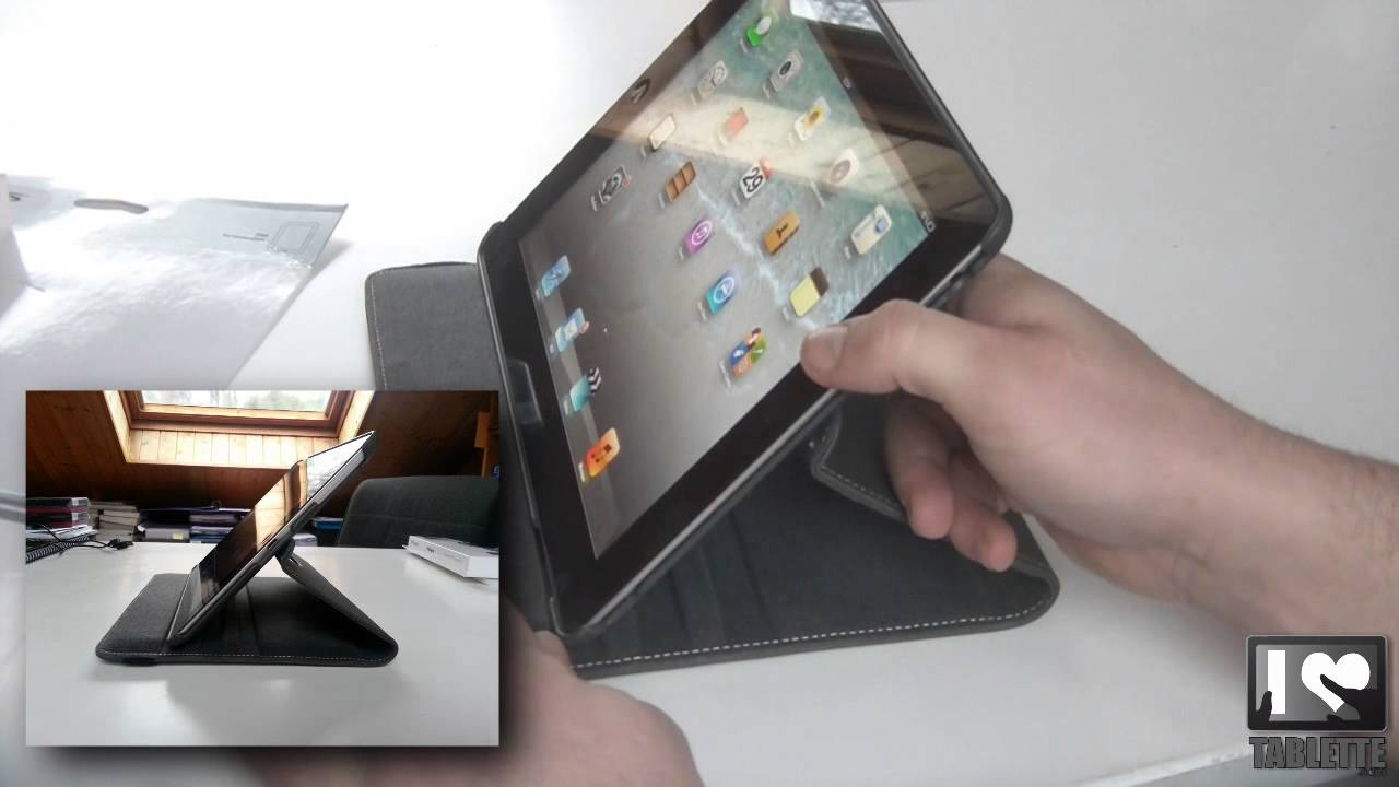 test targus versavu 360 pour tablette tactile apple ipad 3 youtube. Black Bedroom Furniture Sets. Home Design Ideas